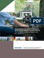 DAAD Hochschulstandorte in Deutschland Elternbroschuere de 2018
