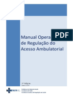 MANUAL DE REGULAÇÃO AMBULATORIAL