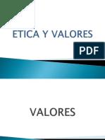 ETICA VALORES