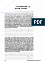 Can Eastern Europe Catch Up Without Structural Funds