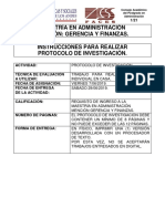 Protocolo de Investigación 2019