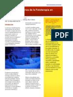 2019 Efectos Secundarios de La Fototerapia en Neonatos