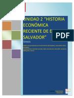 Unidad 2 Historia Economica Reciente de El Salvador