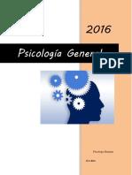 Monografia Psicologia General I