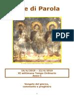 Sete di Parola - SS. Trinita - XI Settimana T.O. - C.doc
