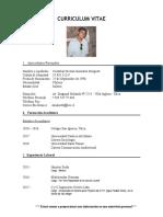 Curriculum Cristobal