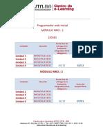 Cronograma Programador Web Inicial Nov18