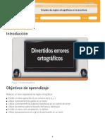 2. Empelo de Reglas Ortograficas. ESTUDIANTE.