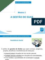 Modulo_II_Gestão Do SUAS_Professora Lea Maria (SEM LOGO)