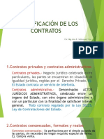 2. Clasificación de Los Contratos