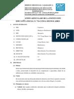 Plan Anual de Gestión Del Comité de Recursos