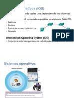 3 Sistema Operativo de Cisco