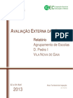Relatório de Avaliação Externa