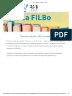 Feria Del Libro de Bogotá - FILBoPoema