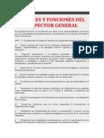 Funciones de Inspector General[6208]