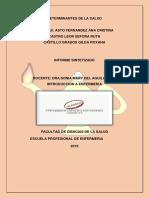 Determinantes de La Salud INTRODUCCION