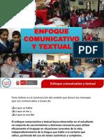 ENFOQUE COMUNICATIVO TEXTUAL 02.ppt