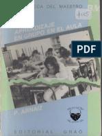 P. Arnaiiz, Aprendizaje en Grupo en El Aula