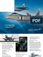 F 22 Product Card