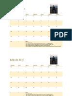 Cronograma de Rodrigo
