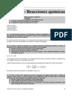 Ejercicios RESUELTOS Del Tema 6 (Reacciones Químicas)