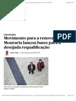 Movimento para a renovação da Mouraria lançou bases para a desejada requalificação | Professores | PÚBLICO