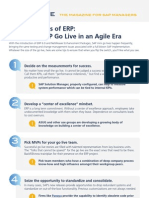 10 Keys to ERP Go Live in an Agile Era
