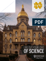 University of Notre Dame College of Science