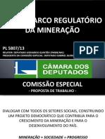 Palestra PL 5.807-2013 Novo Marco Mineração Quintão