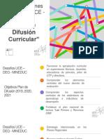 Plan de Difusion Curricular