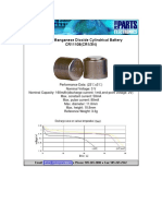 CR1-3N Li-MnO2 Battery (Peter Parts CR11108)