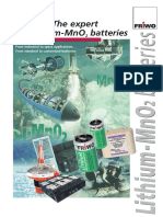 Li-MnO2 Batteries (Friwo)