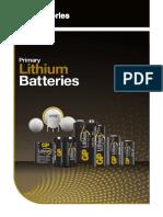 Lithium Primary Catalogue - GP Batteries
