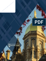 University of Notre Dame, Admissions Booklet (Spanish)