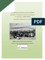 Violencia Política en Perú 1980 2000