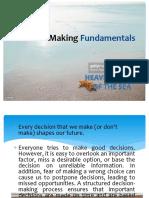 Decision Making Fundamentals