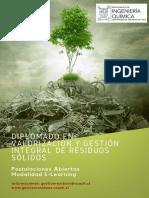 Diplomado gestión de residuos sólidos