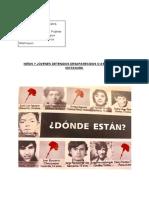 Niños y Jóvenes Detenidos Desaparecidos o Asesinados En__dictadura