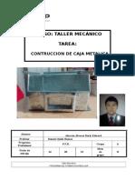 268208847 Informe de Caja Metalica Tecsup