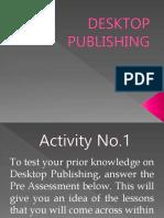 Desktop Publishing Autosaved