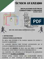 Instalaciones electricas-Conductores y cableado