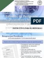 Instructivo Providencia 2018