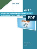 WordPress en Un Par de Clics