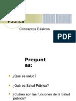 Clase 1 Salud Publica