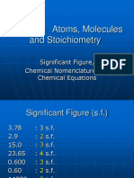 1a. Significant Figure, Chemical Nomenclature and Chemical Equations (master).ppt