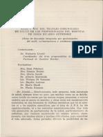 Ayer y Hoy Del Trabajo Comunitario en Salud de Los Profesionales Del Hospital de Niños Ricardo Gutiérrez. (Mesa Redonda)