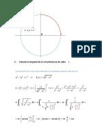Ejercicios de Cálculo integral