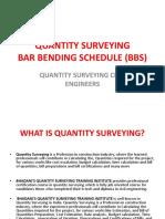 Bar Bending Scheule Quantity-surveying Bhadanis Qs Institute India-ppt-file
