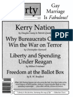 Liberty Magazine October 2004 - When You Wish Upon a Czar - Norman Ball