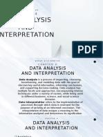 DATA ANALYSIS AND INTERPRETATION